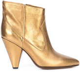 Buttero metallic ankle boots