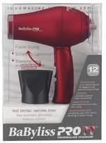 Babyliss Tourmaline Titanium® Travel Dryer Red