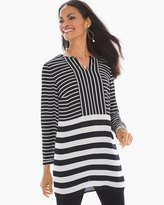 Chico's Contrast Stripe Tunic