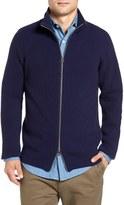 Gant Men's Wool Blend Zip Sweater