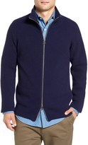 Gant Wool Blend Zip Sweater