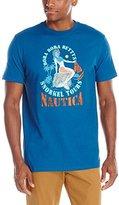 Nautica Men's Mermaid Crew Neck T-Shirt