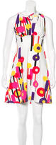 Just Cavalli Abstract Print Sleeveless Dress w/ Tags