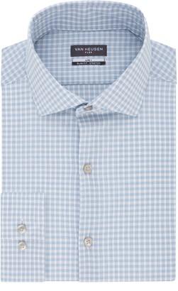 Van Heusen Men's Regular-Fit Spread-Collar Flex Lite Plus Dress Shirt