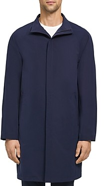 Theory Taimo Foundation Tech Regular Fit Long Coat