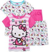 Asstd National Brand Hello Kitty 4-pc. Sleep Set - Girls 7-16