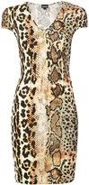 Just Cavalli - robe courte à effet