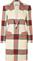 Vivienne Westwood Town Tartan Cotton Coat - Off-white