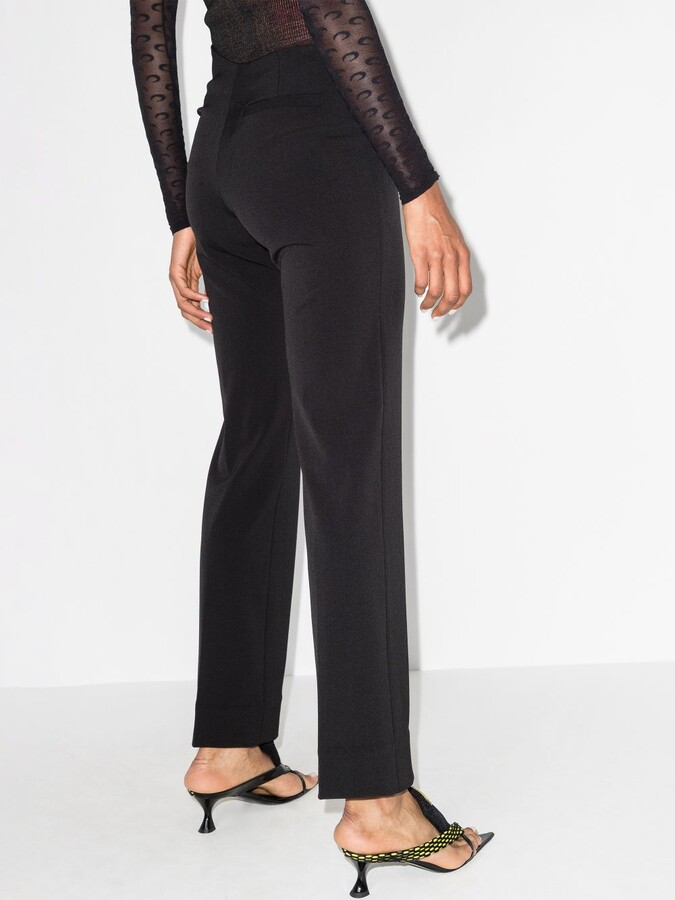 Thumbnail for your product : Supriya Lele Black Thong Tailored Trousers