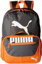 Puma Grub Combo Kit Backpack (Kid) - Grey/Orange - One Size