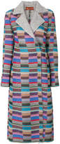 Missoni colour block coat
