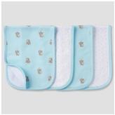 Gerber Babys' 4 Pack Terry Burpcloth Set Bears ;