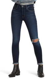 Levi's 721(TM) Ripped High Waist Skinny Jeans