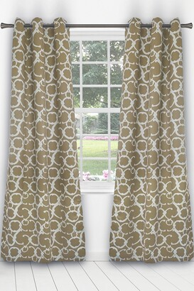 Duck River Textile Rhys Blackout Grommet Panel Curtains - Set of 2 - Taupe