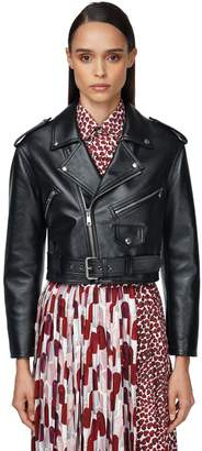 Prada Leather Biker Jacket