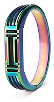 Tory Burch For Fitbit Metal Hinged Bracelet