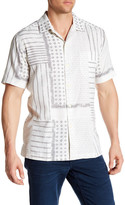 Tommy Bahama Patch & Release Regular Fit Printed Camp Shirt