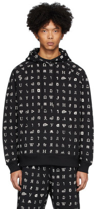Études Black Wikipedia Edition Racing All-Over Hoodie