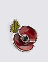 M&S Collection The Poppy Collection® Enamel Pin
