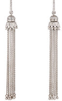 Sara Weinstock Women's White Diamond & White Gold Tasseled Earrings