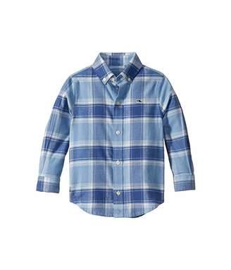 Vineyard Vines Kids Mulberry Flannel Whale Shirt (Toddler/Little Kids/Big Kids)