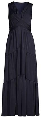 Kobi Halperin Courtine Wrap Maxi Dress