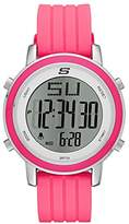 Skechers Women's SR6013 Digital Display Quartz Pink Watch