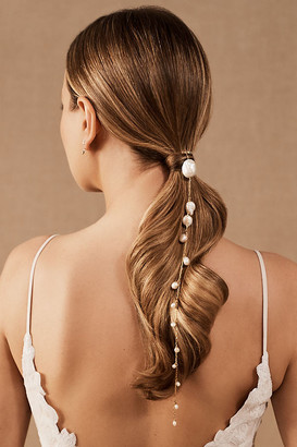 LELET NY Pearl Spine Comb By in Gold Size ALL