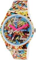 Swatch Unisex SUOW705 Sprinkled Analog Display Quartz Multi-Color Watch