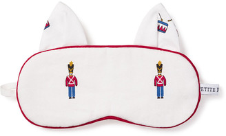 Petite Plume Kid's Toy Solider Kitty Ears Eye Mask