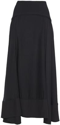3.1 Phillip Lim Layered Paneled Silk-crepe And Gauze Maxi Skirt