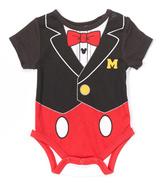 Children's Apparel Network Black Mickey Mouse Bodysuit - Infant