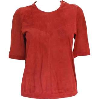 Isabel Marant \N Red Suede Tops