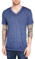 Men's The Rail Burnout Nepped V-Neck T-Shirt