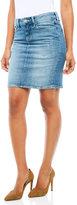 Mavi Jeans Evelyn Distressed Denim Skirt