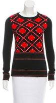 Prabal Gurung Jacquard Wool Sweater w/ Tags
