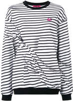 McQ broken stripe sweatshirt