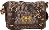 Miu Miu Matelassé leather handbag