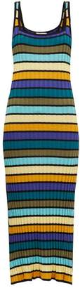 Solid & Striped Striped Knit Dress - Womens - Multi Stripe