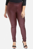Fashion to Figure Zak Faux Leather Pull-On Pants