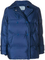 Prada padded double-breasted jacket