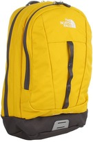The North Face Mini Free Fall (Youth) (Leopard Yellow/Graphite Grey) - Bags and Luggage