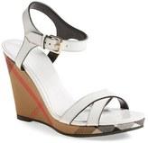 Burberry 'Rastrickson' Wedge Sandal (Women)