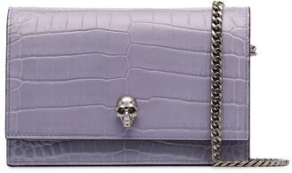 Alexander McQueen Skull-Embellished Crossbody Bag