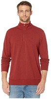 Southern Tide Skipjack Pique 1/4 Zip (Heather Dark Grey) Men's Clothing