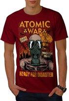 Ready For Disaster Atomic War Men NEW XXXL T-shirt | Wellcoda