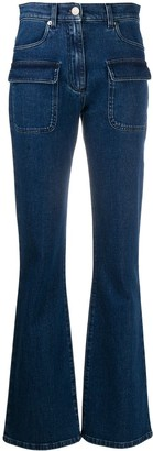 Alberta Ferretti Flared Leg Jeans