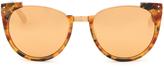 Linda Farrow Tortoiseshell and gold-plated sunglasses