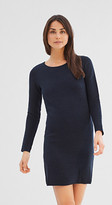 Esprit Knitted dress in a fashionable texture mix