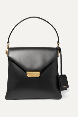 Prada Ingrid Large Leather Tote - Black